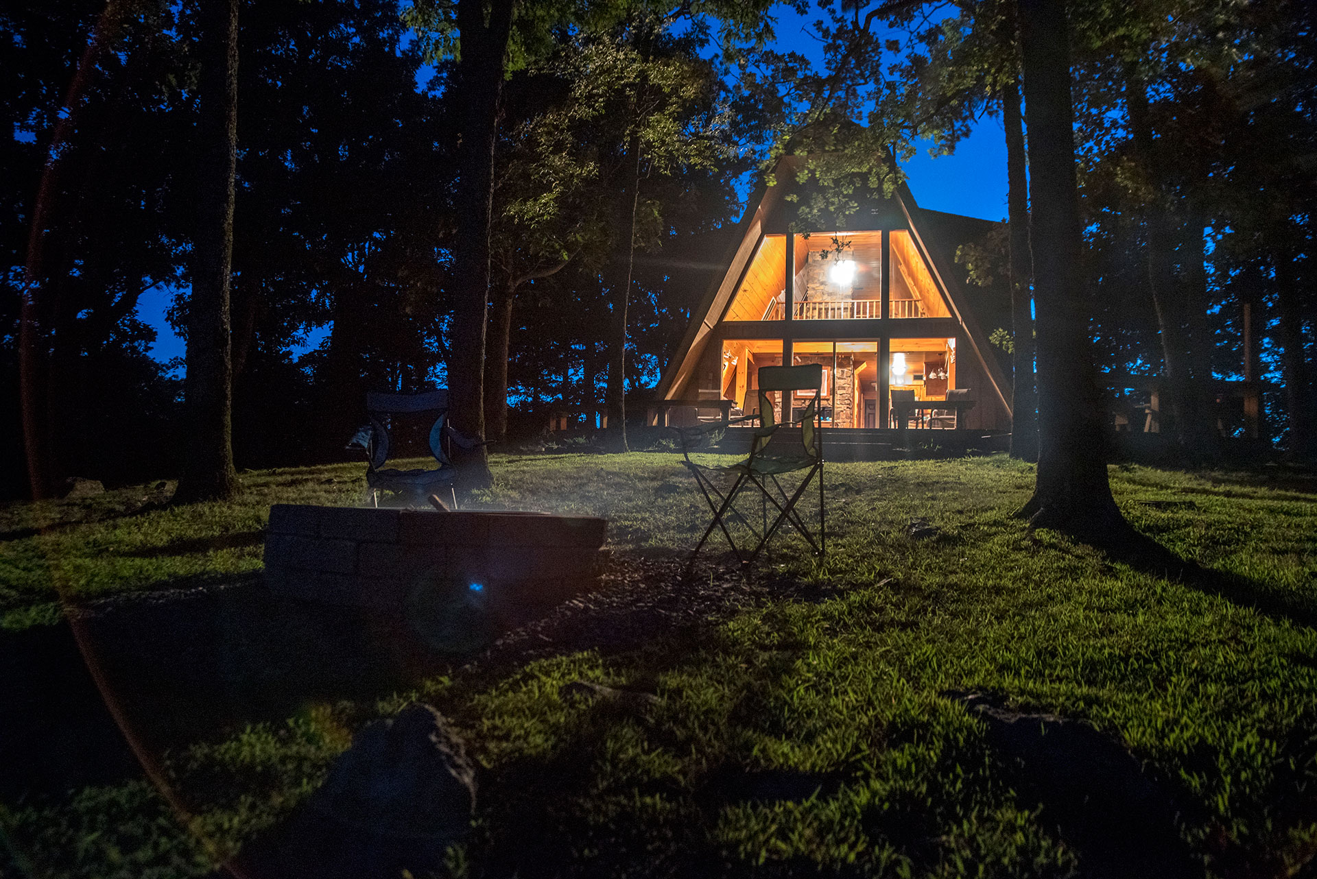 Welcome to Peckerwood Knob Cabin Rentals in Oklahoma