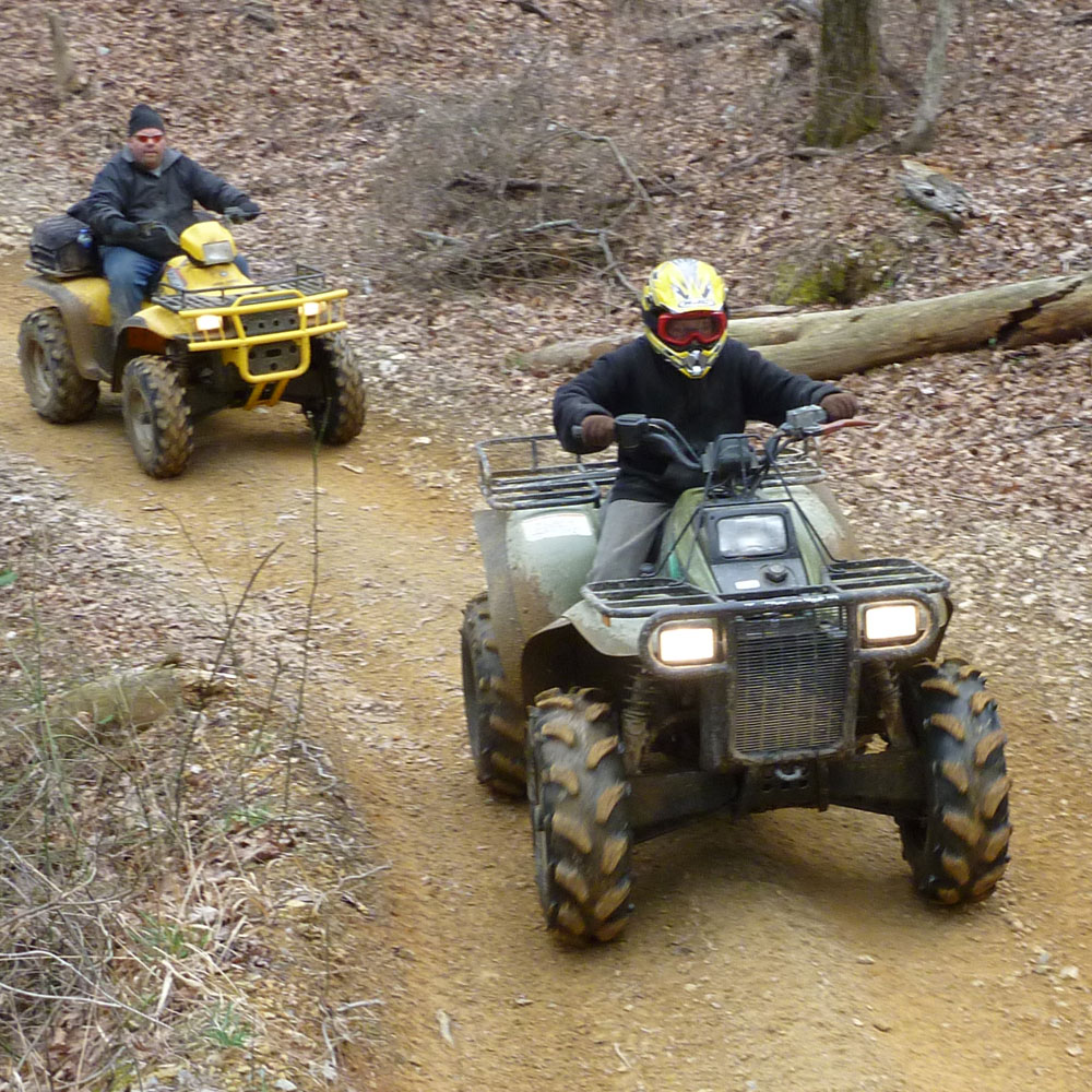 ATVs and Mountain Biking
